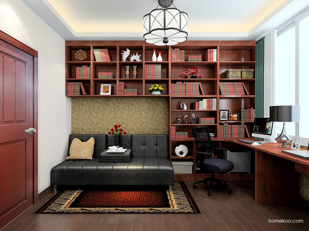 挪威月色书房家具C19715