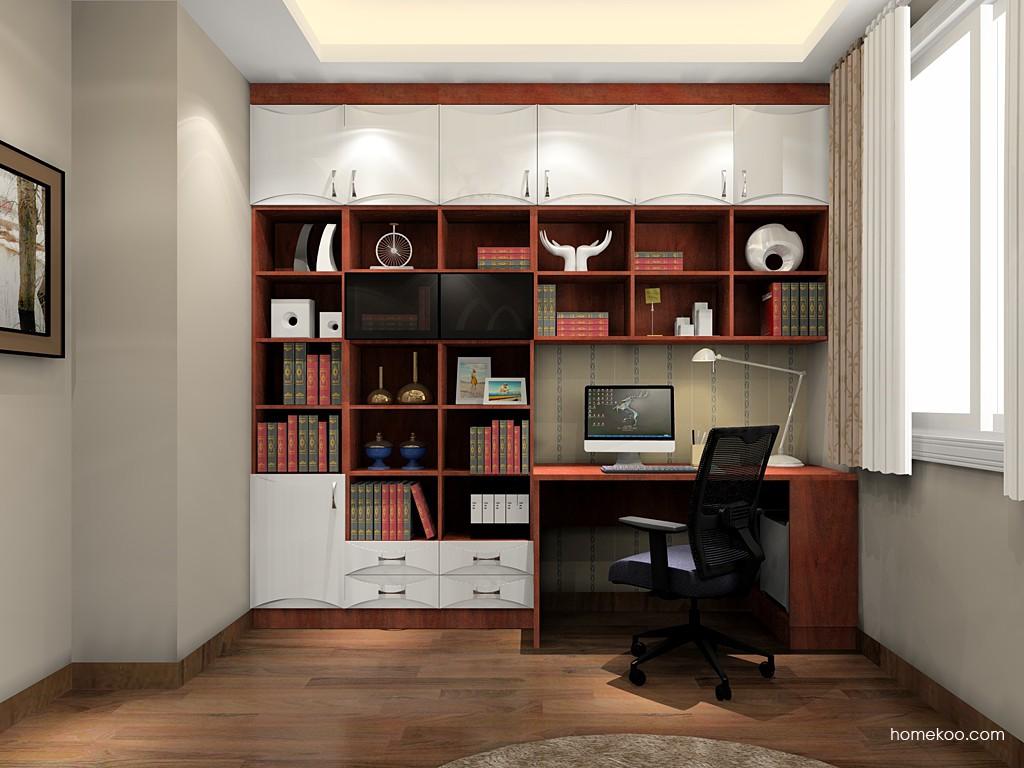 挪威月色书房家具C19726