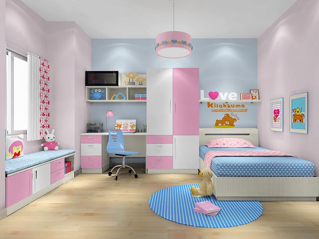 女孩的梦青少年房B19852