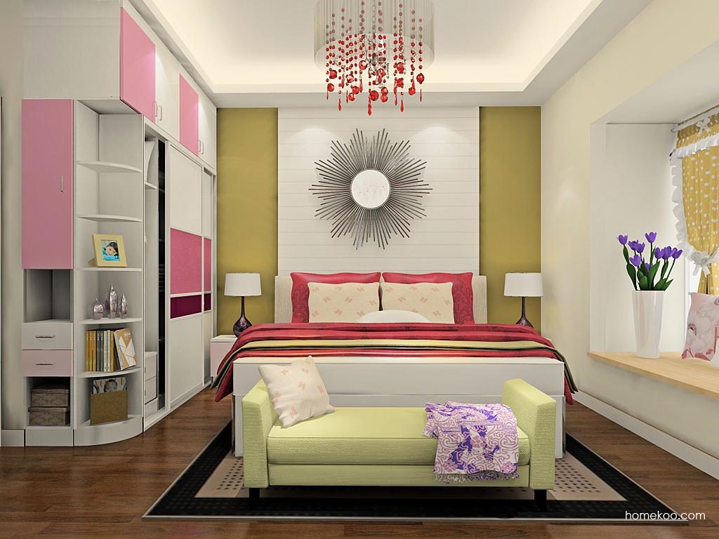 浪漫主义卧房家具A20502