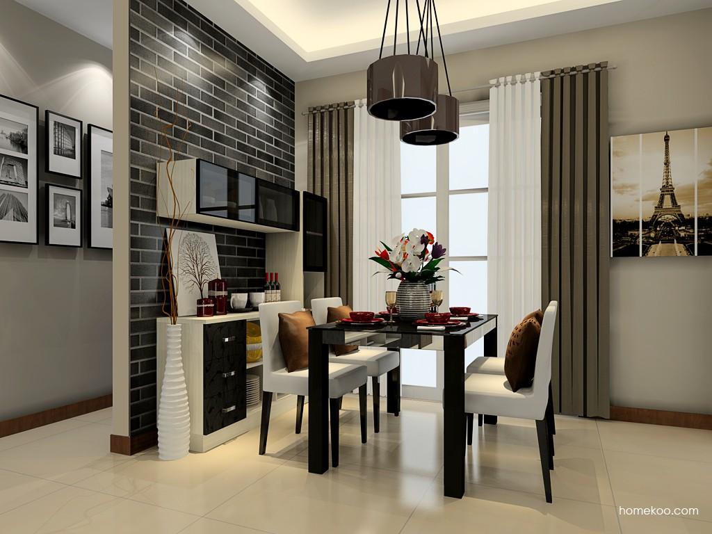米兰剪影餐厅家具E18058