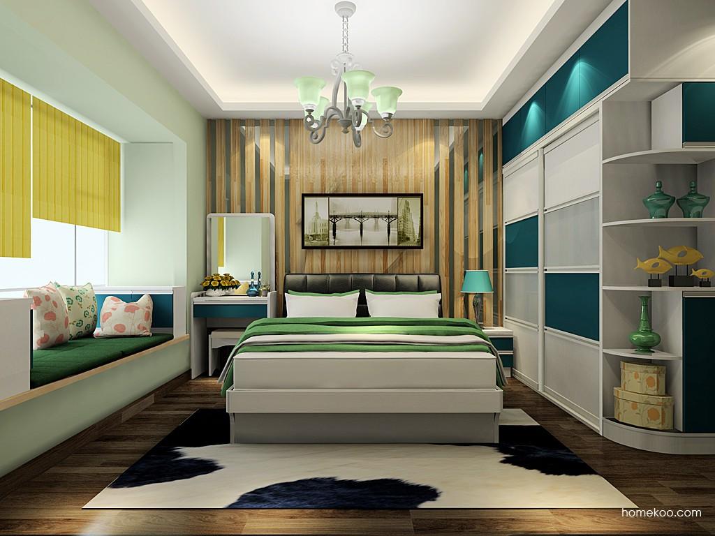 新实用主义卧房家具A20563