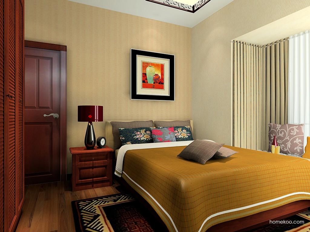 新中式主义卧房家具A20580
