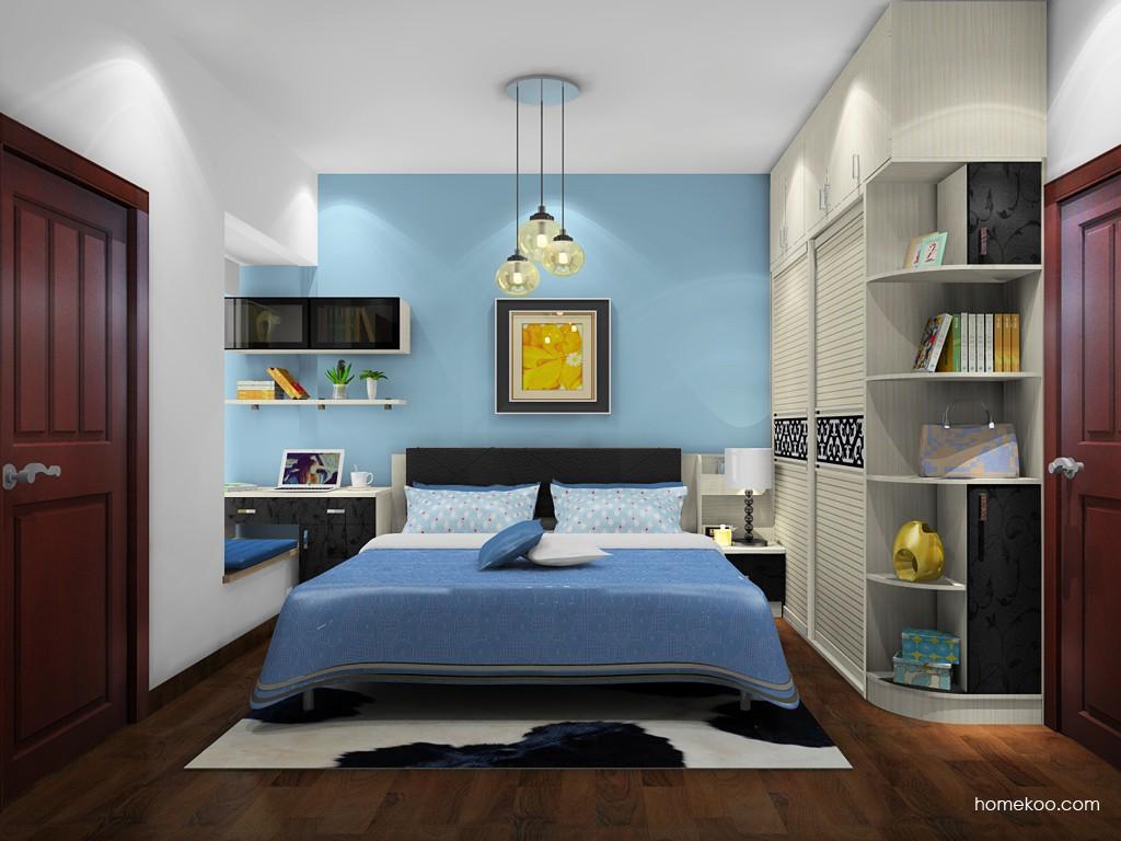 米兰剪影卧房家具A20601