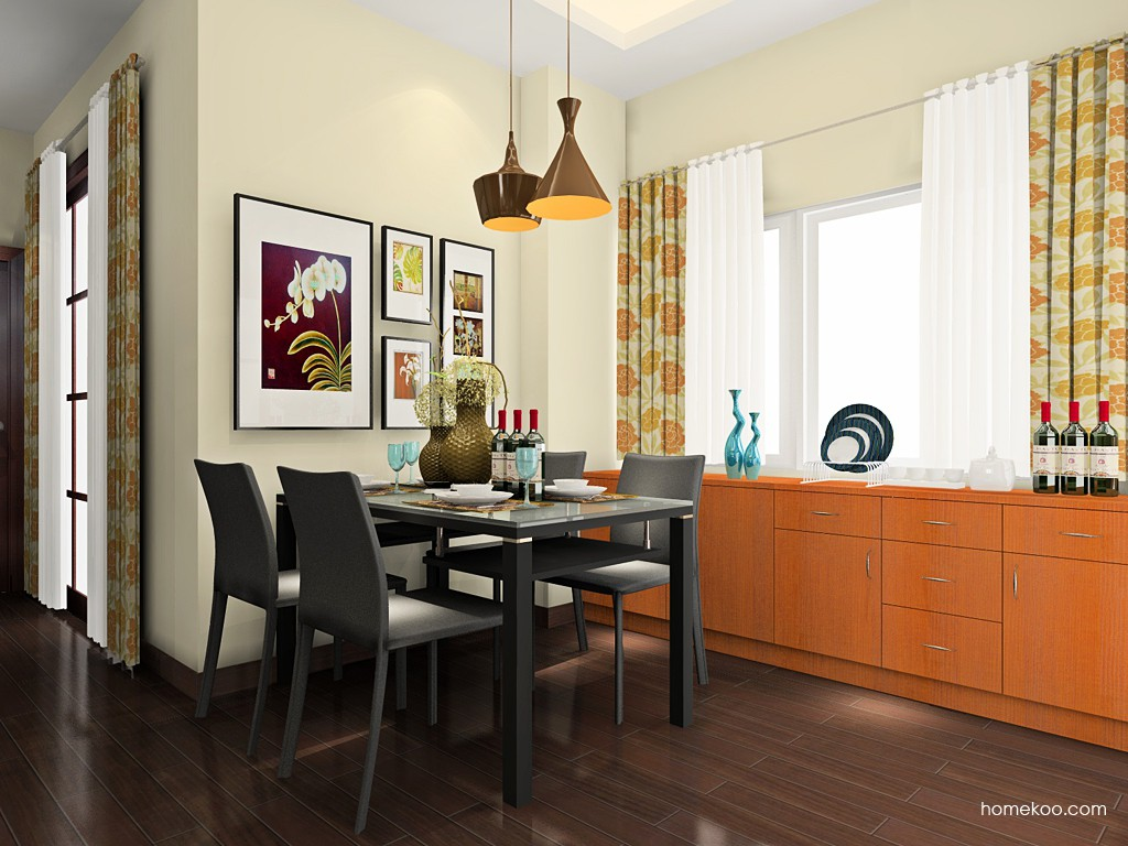 芭堤雅餐厅家具E18069
