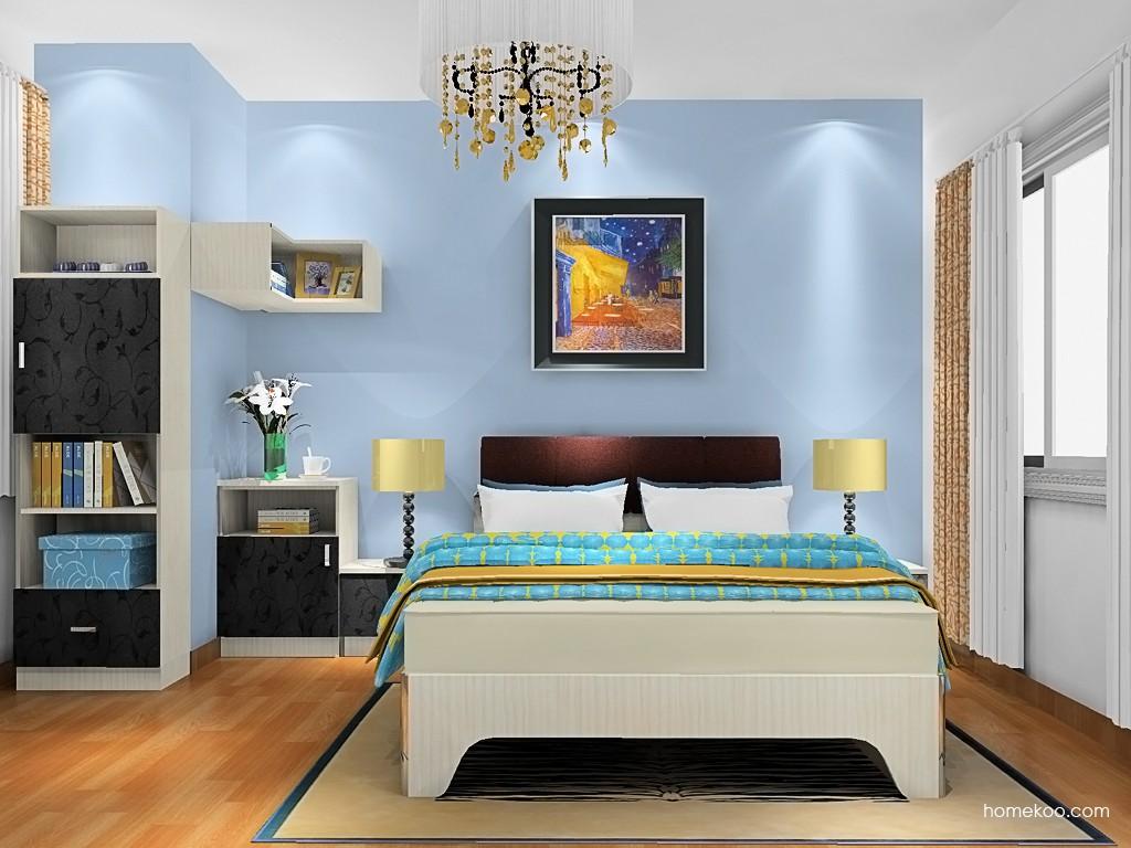 米兰剪影卧房家具A20717