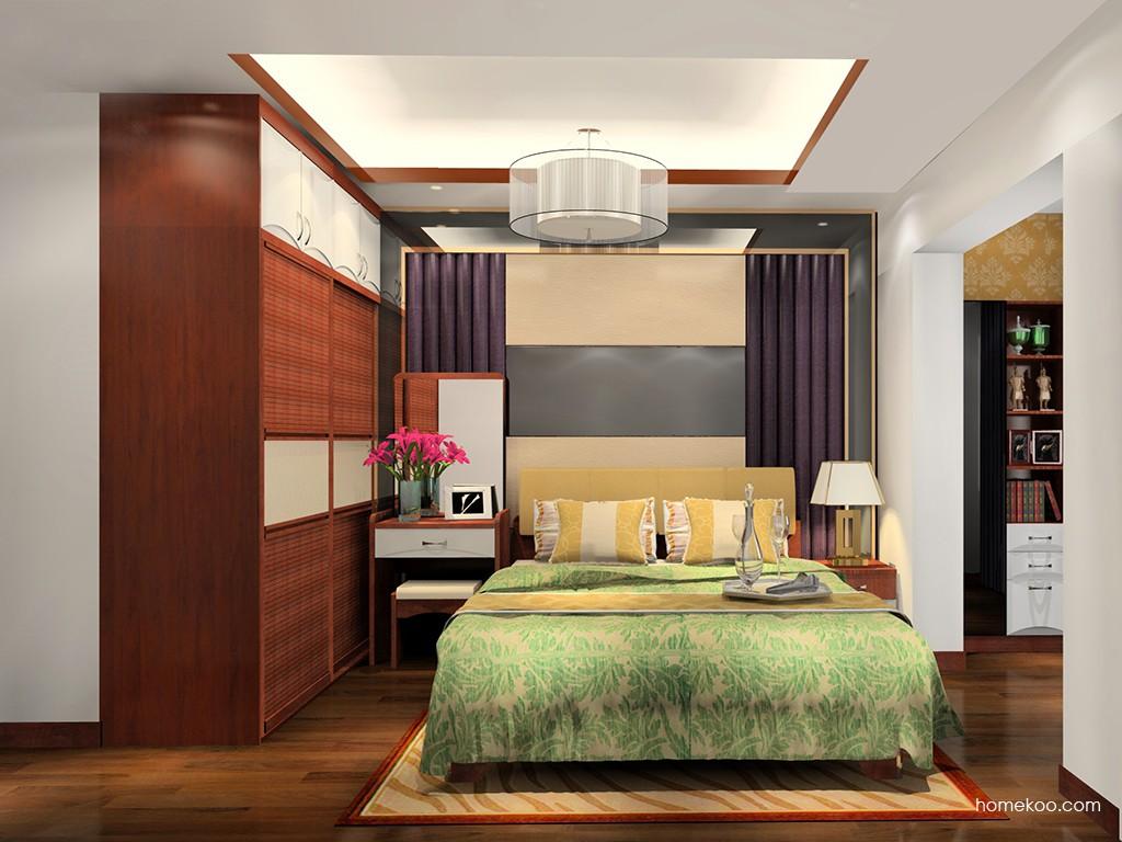 挪威月色卧房家具A20735