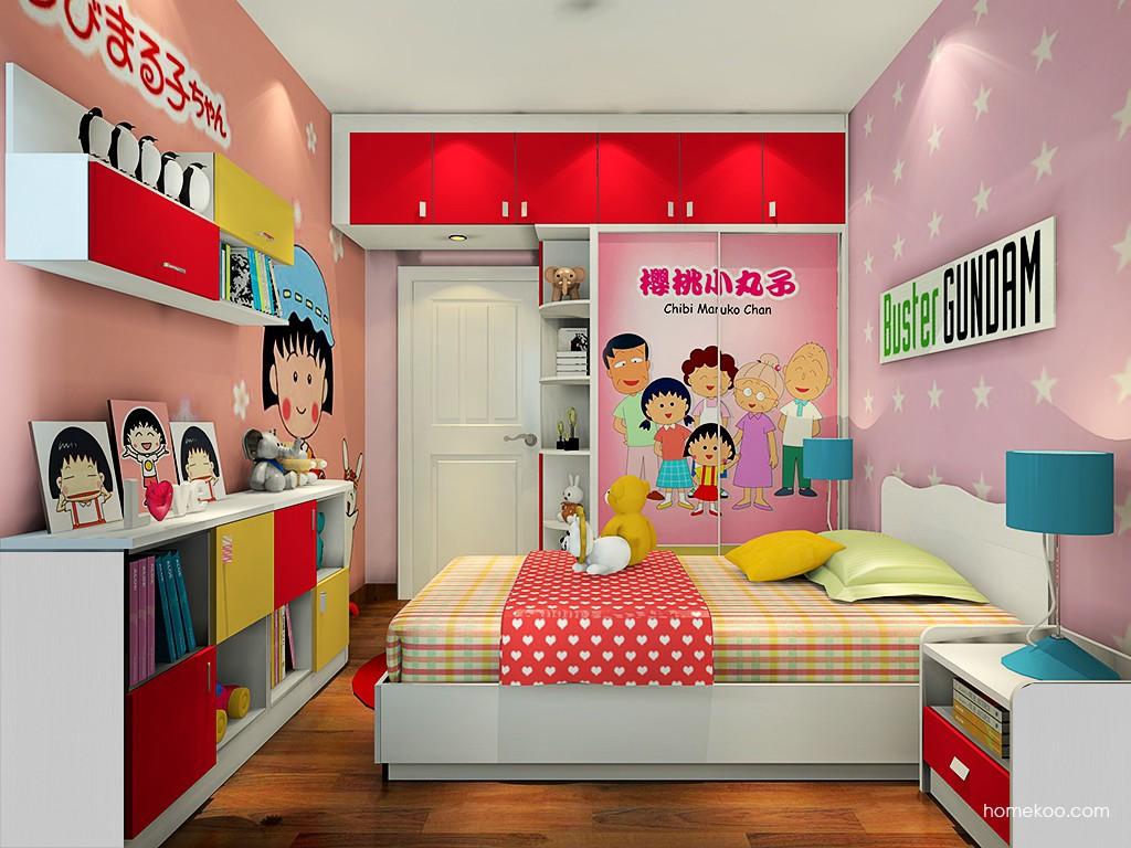 女孩的梦青少年房B20283