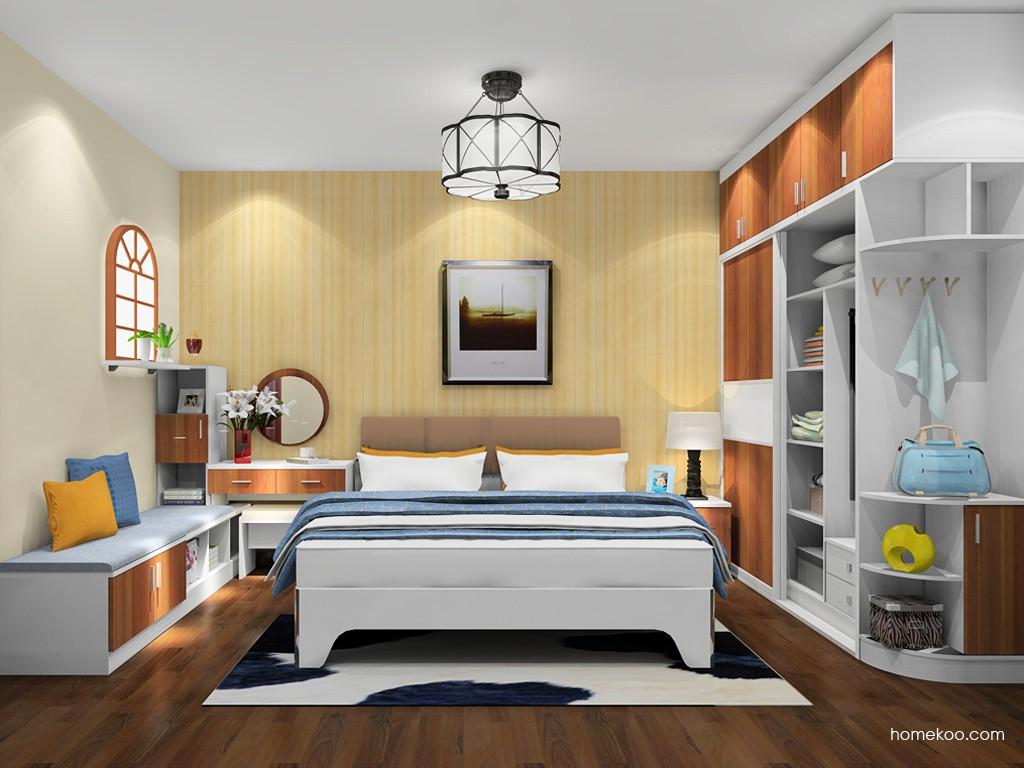 新实用主义卧房家具A20757