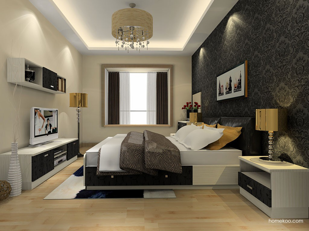 米兰剪影卧房家具A20763