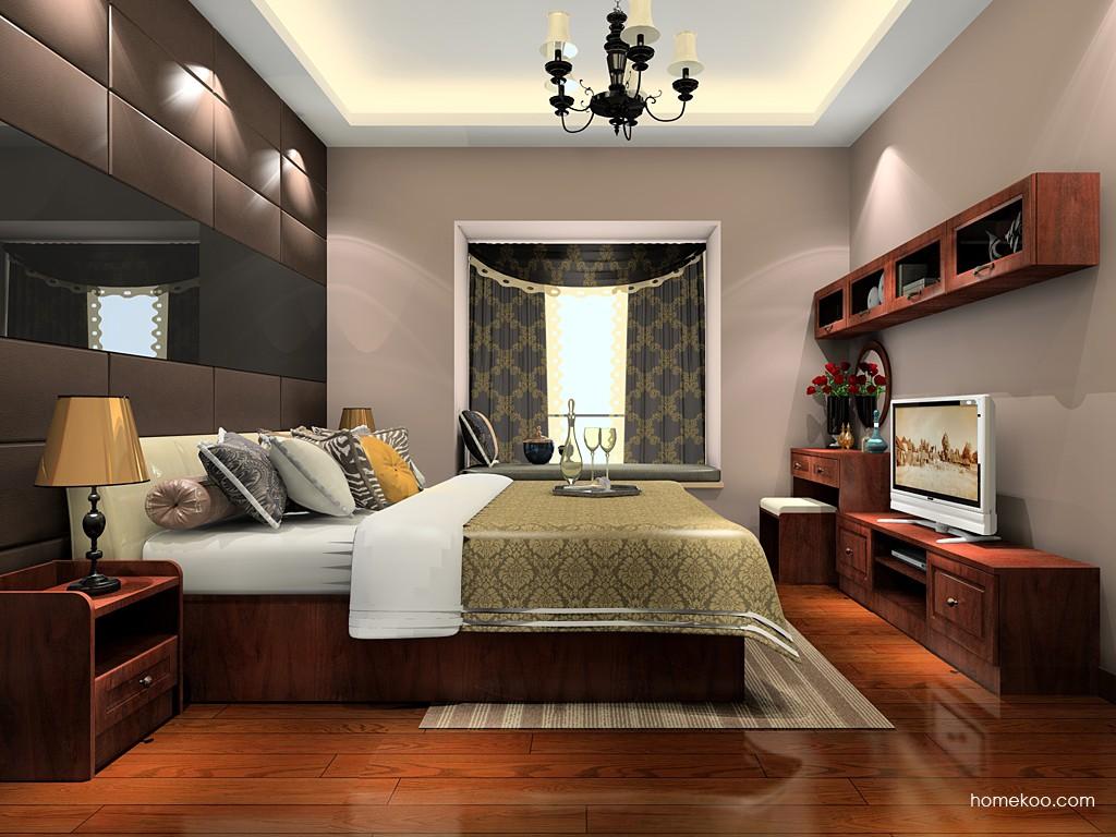 马赛丽舍卧房家具A20805