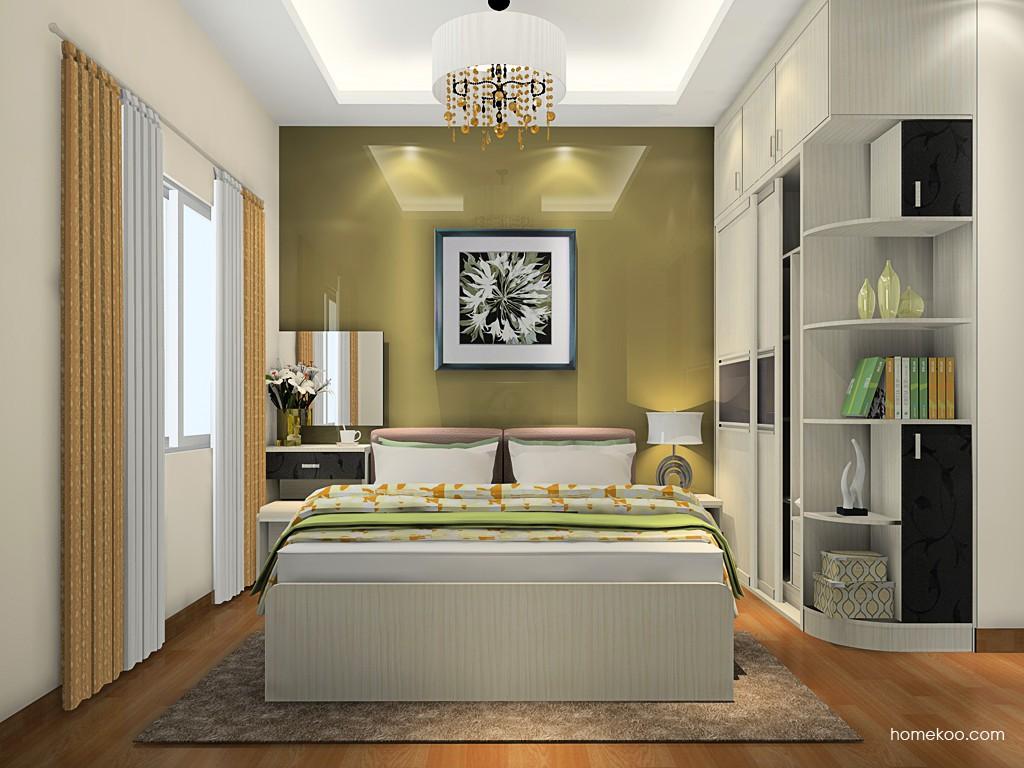 米兰剪影卧房家具A20808