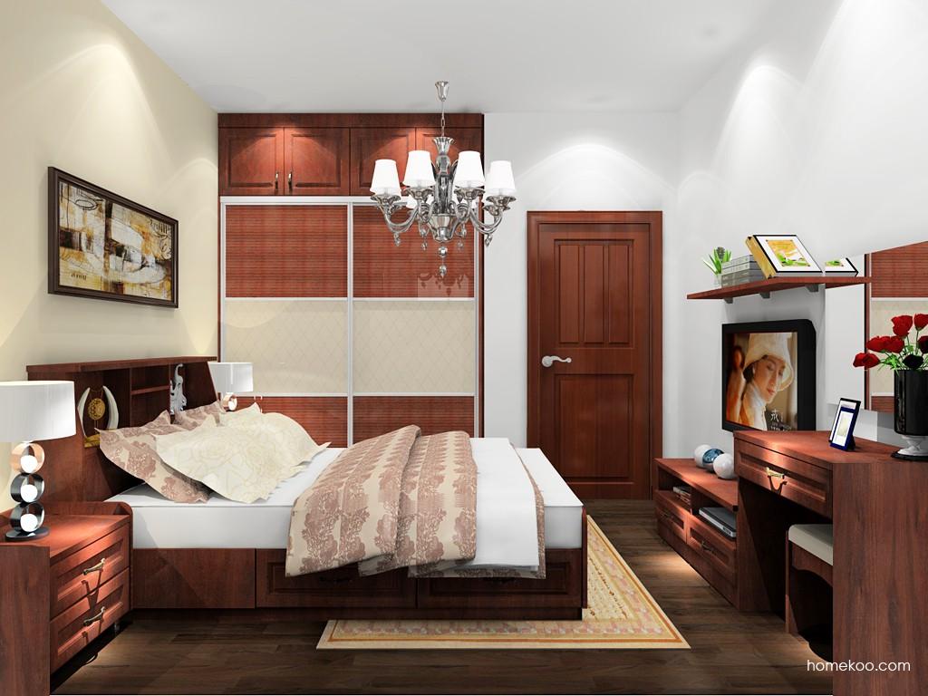 马赛丽舍卧房家具A20826