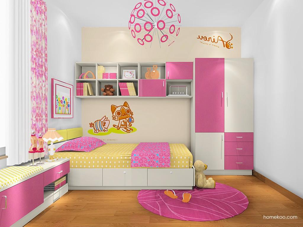 女孩的梦青少年房B20337