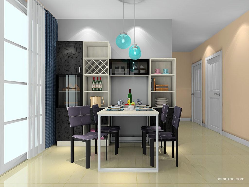 米兰剪影餐厅家具E20295