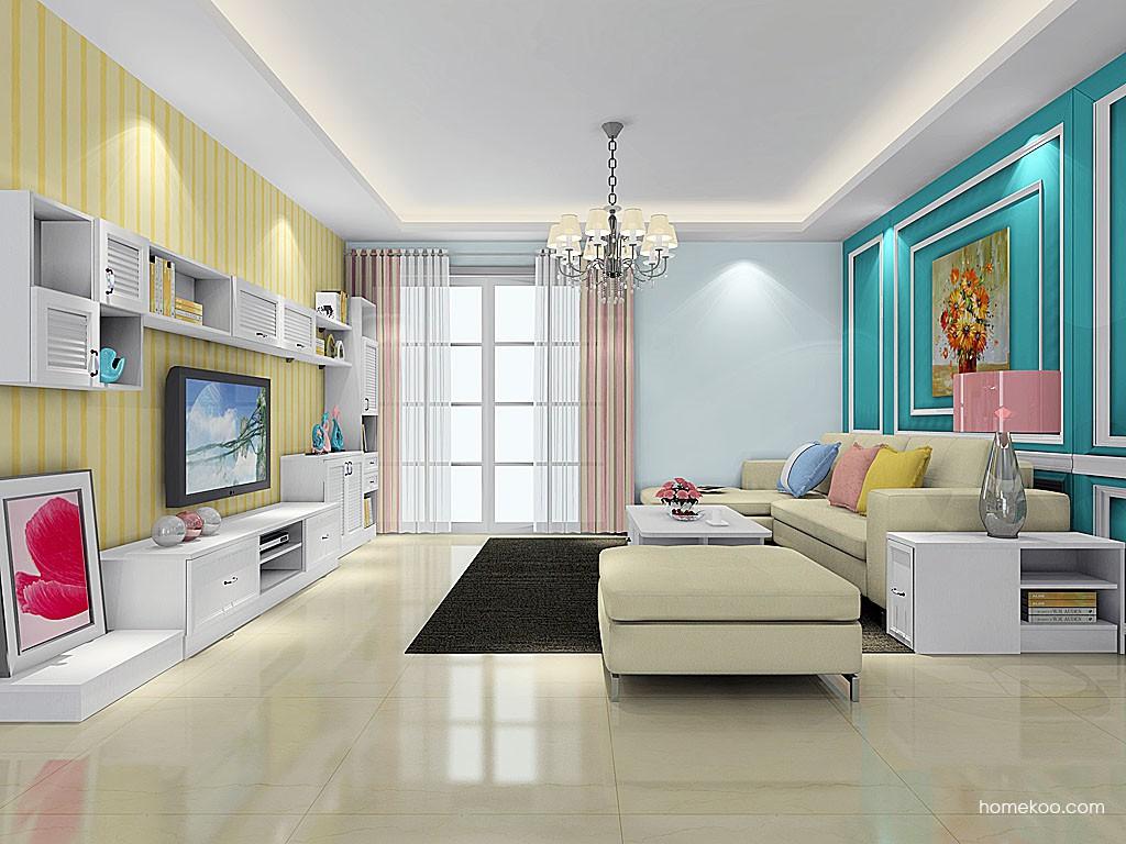 韩式田园客厅家具D20318