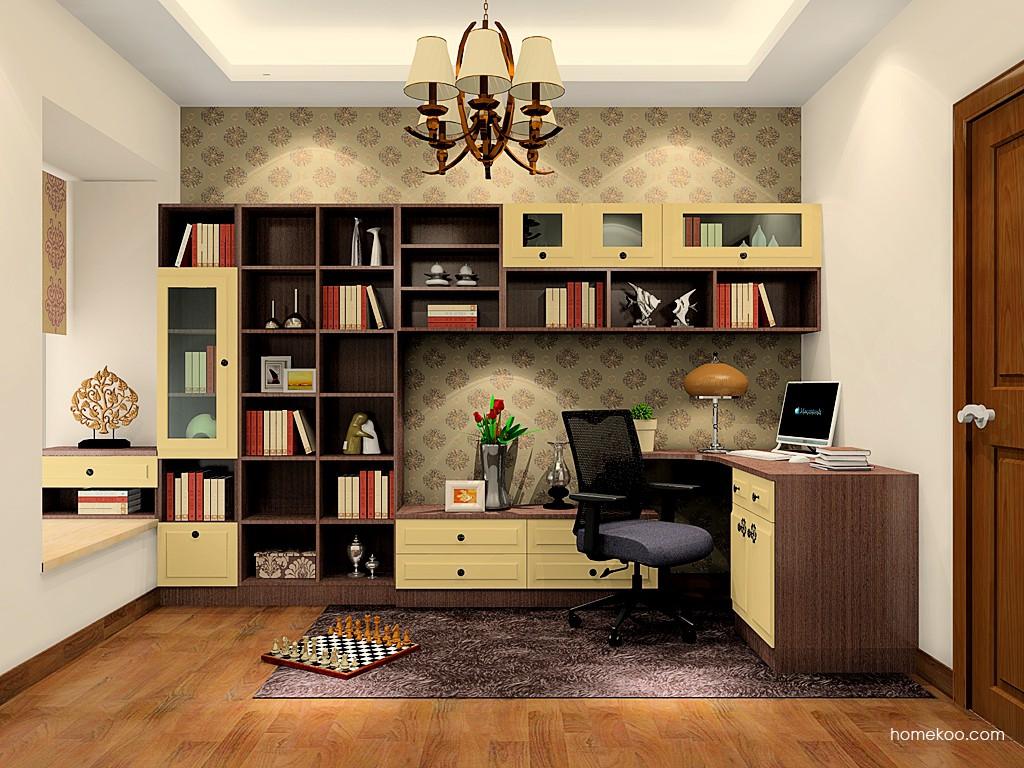 卡罗摩卡书房家具C20798