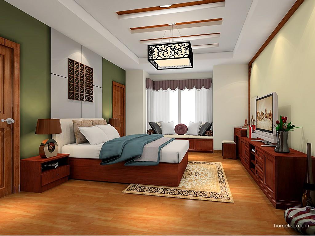 新中式主义卧房家具A20936