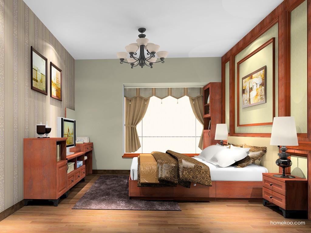 马赛丽舍卧房家具A20938