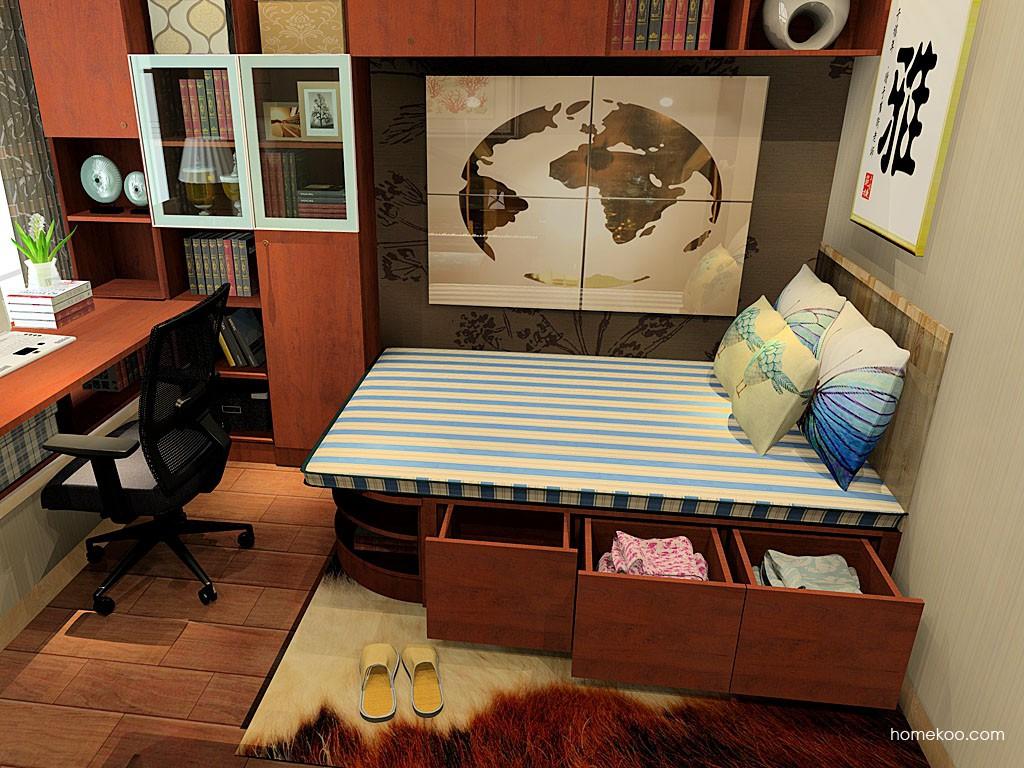 新中式主义书房家具C21421