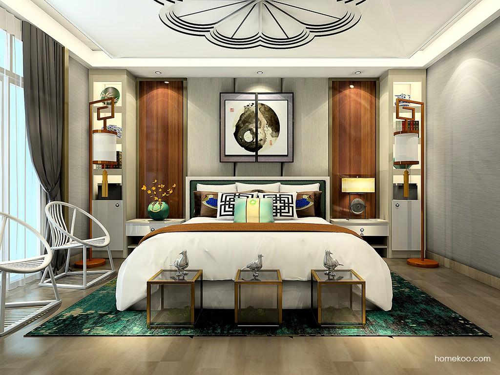 新实用主义卧房家具A23924