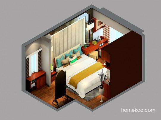 斯玛特系列卧房A24116