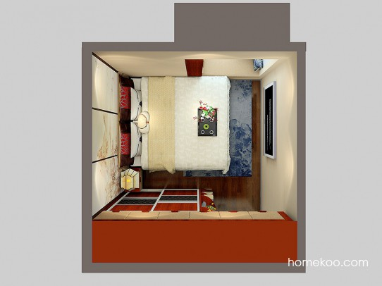 格瑞丝系列卧房A24123