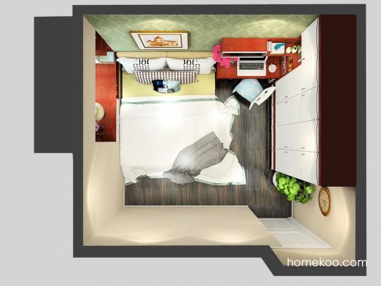 挪威月色卧房A24264