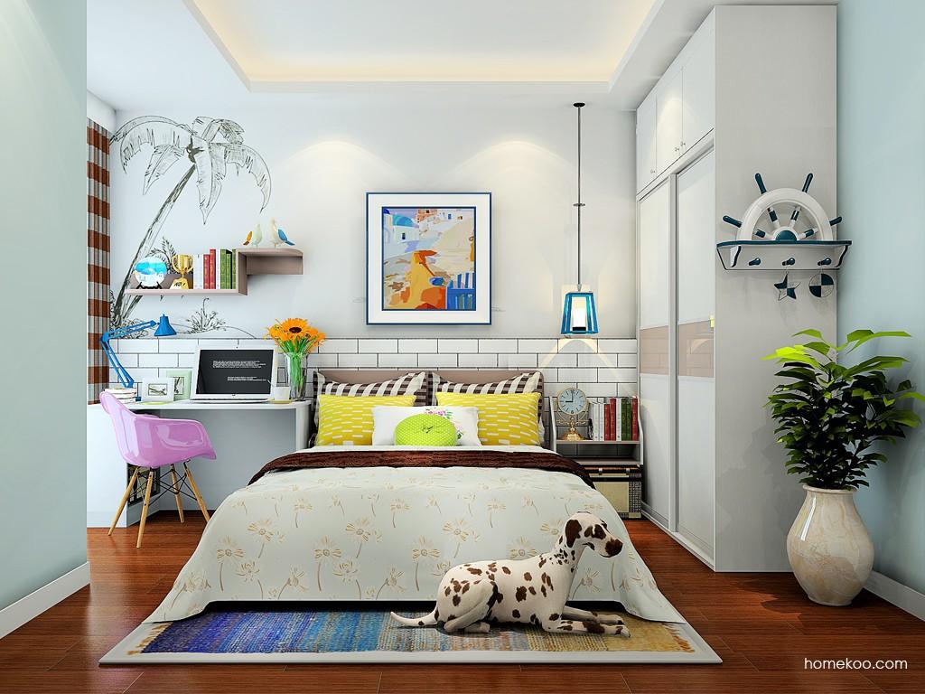新实用主义卧房家具A24274
