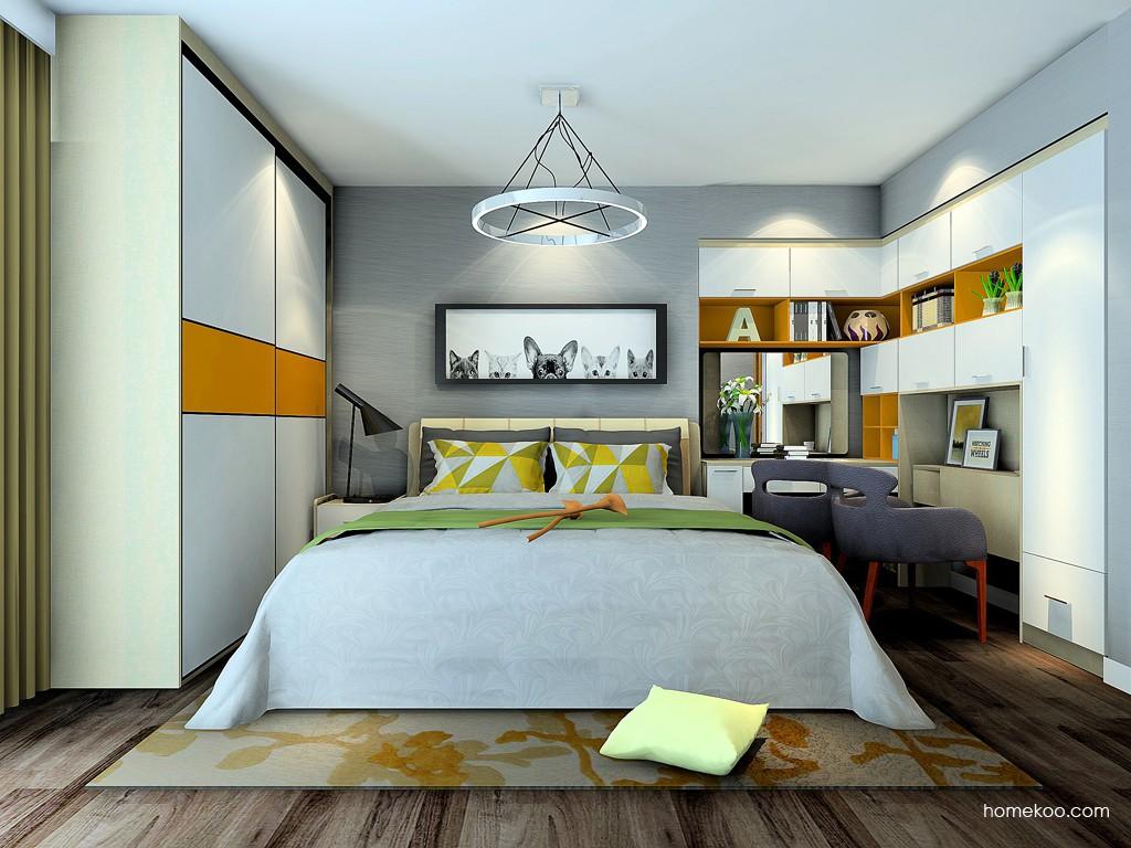 二人世界卧房家具A24289