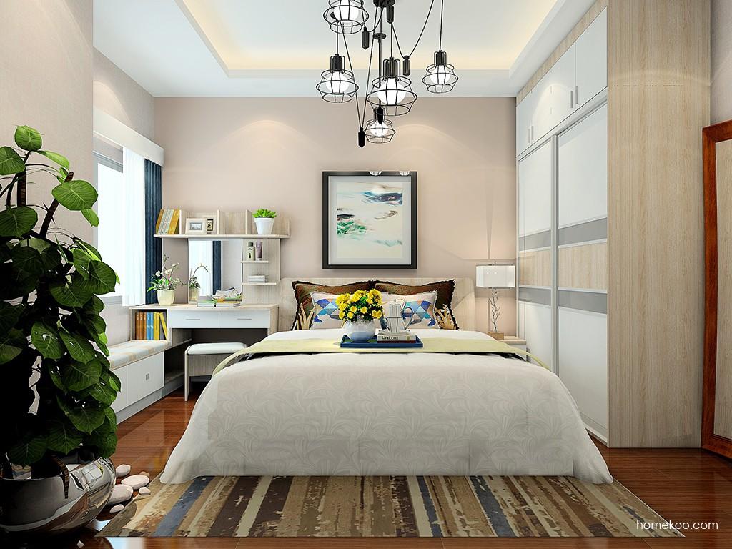 二人世界卧房家具A24389