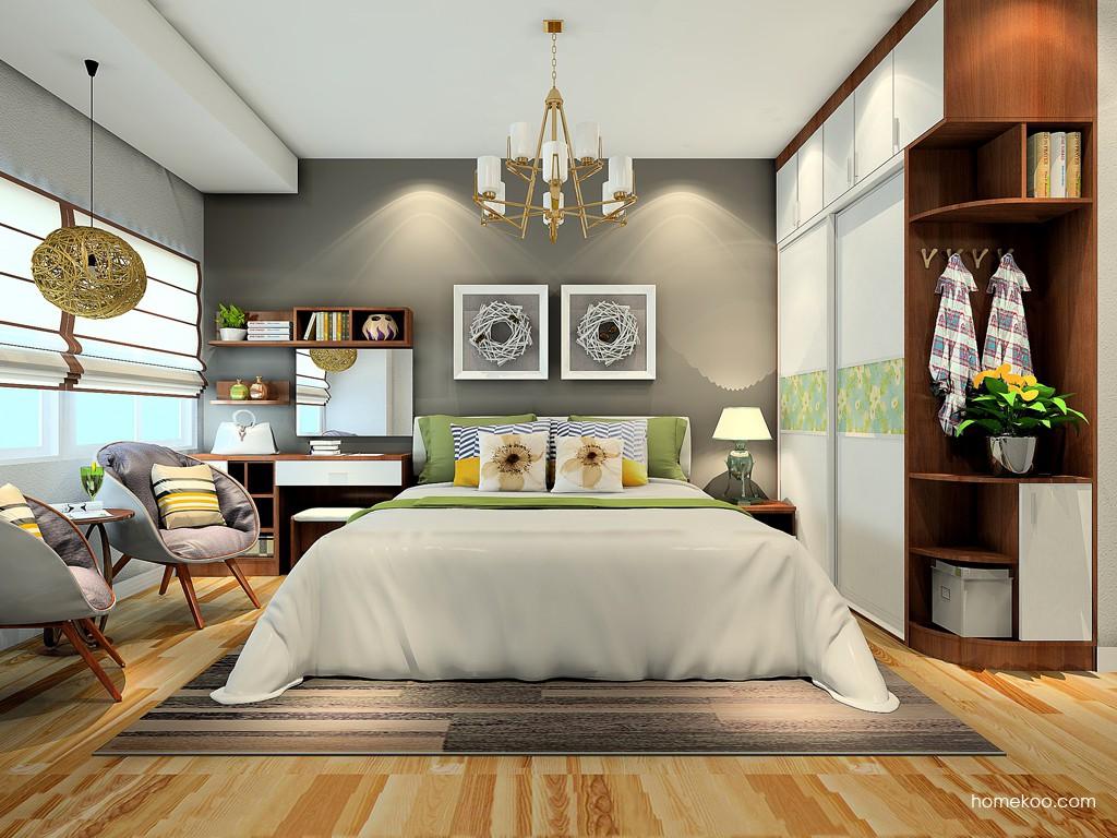 新实用主义卧房家具A24411