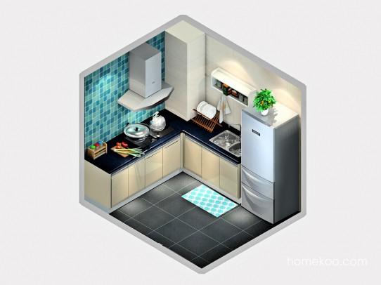 德丽卡系列厨房F23154