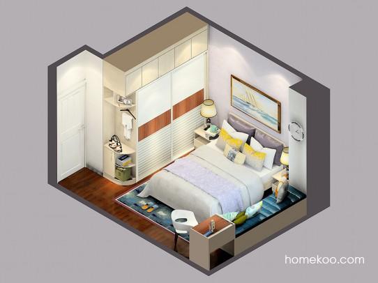 乐维斯系列卧房A24549