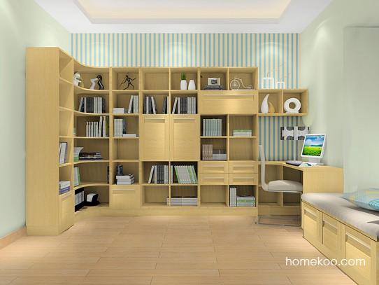 创意书房同一空间不同体现