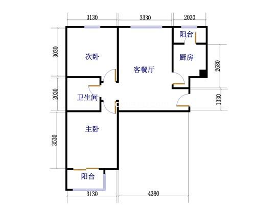 C11号楼户型图