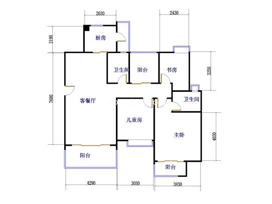 A1A1dA2A2d两室两厅一卫 81�O