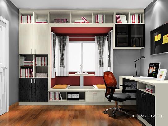 8㎡门窗相邻转角窗1扇门书房