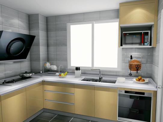 5�O门窗相对平窗2扇门厨房