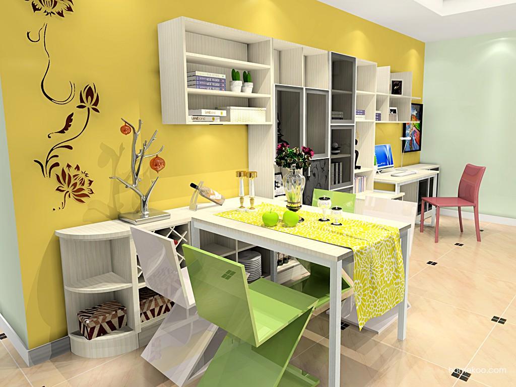 米兰剪影餐厅家具E16854