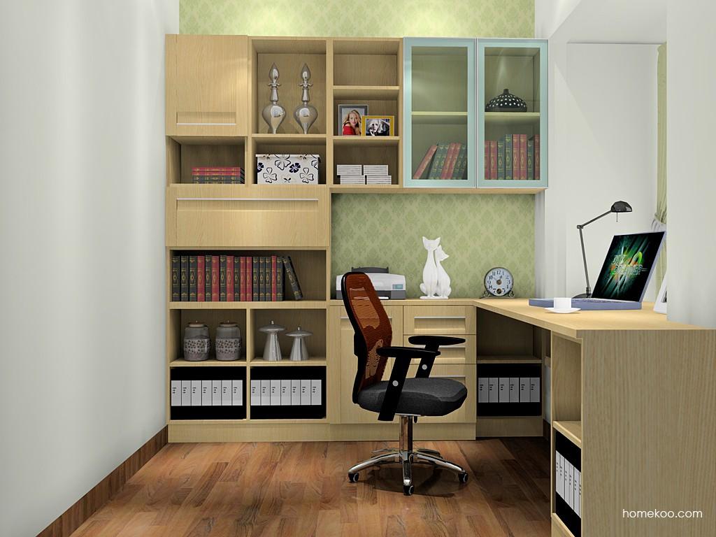 丹麦本色书房家具C18497