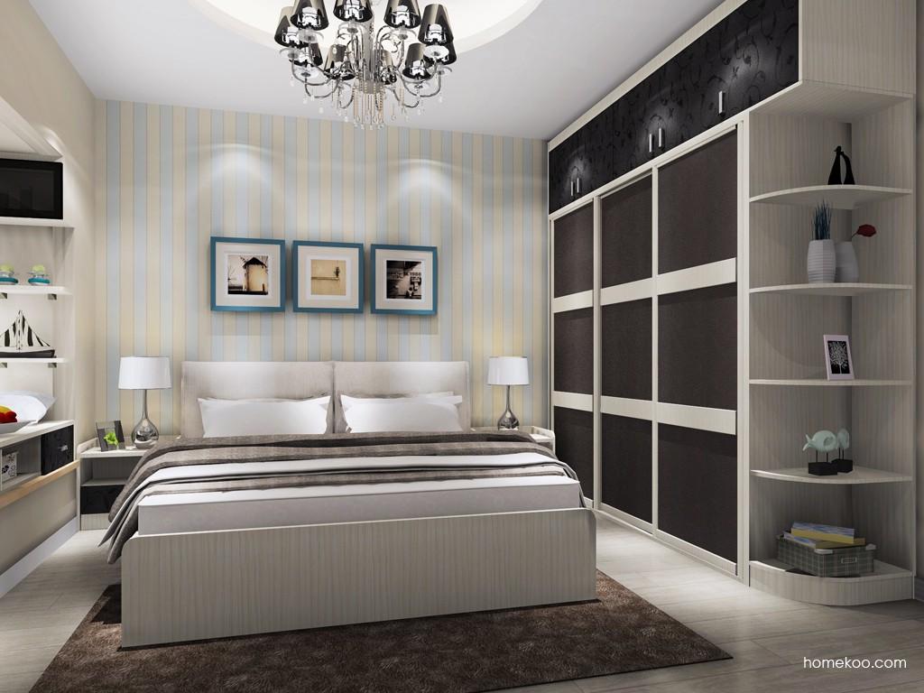 米兰剪影卧房家具A18237