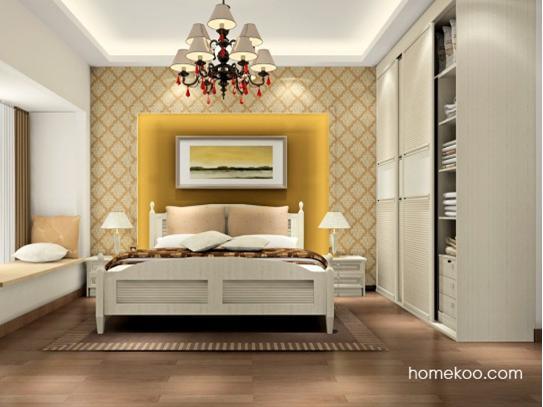 白色欧式家具图片赏析