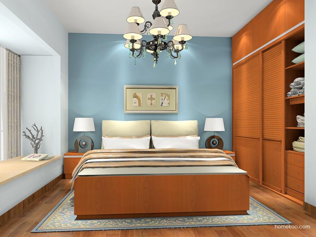 加州梦卧房家具A18359