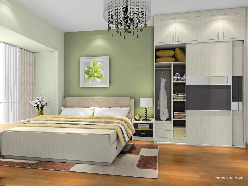 米兰剪影卧房家具A18365