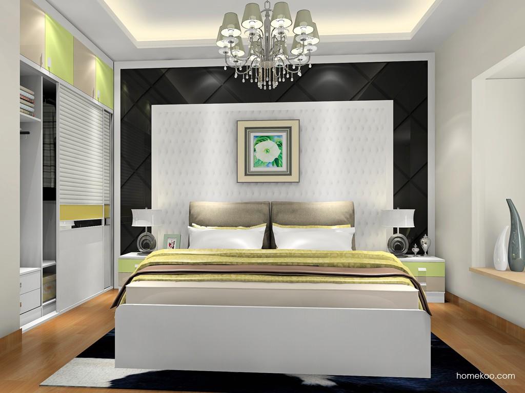 新实用主义卧房家具A18369