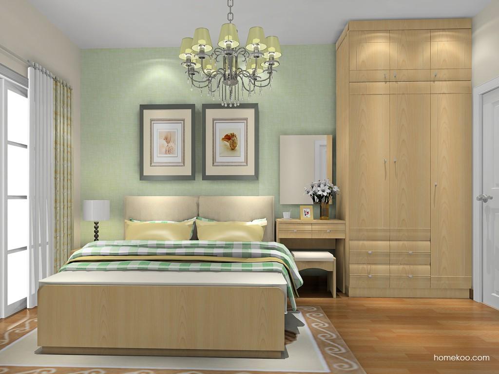 北美枫情卧房家具A18379