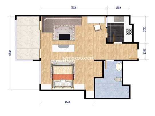 布查特国际公寓81�O