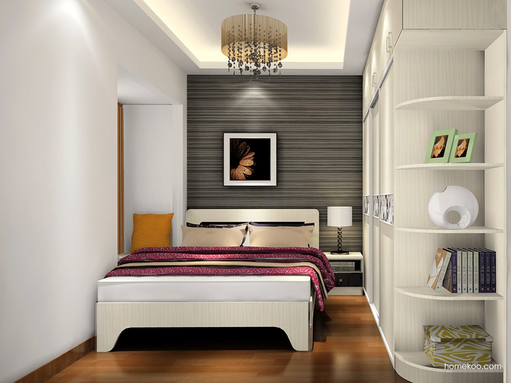 米兰剪影卧房家具A18421