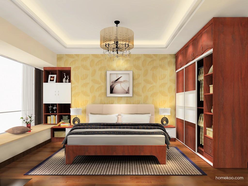 挪威月色卧房家具A18450